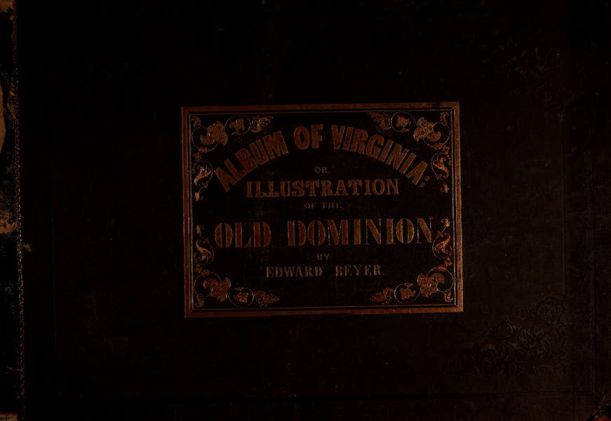 Album of Virginia - Front Cover (1858)