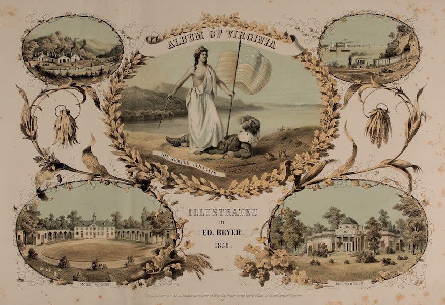Album of Virginia - Title Page (1858)