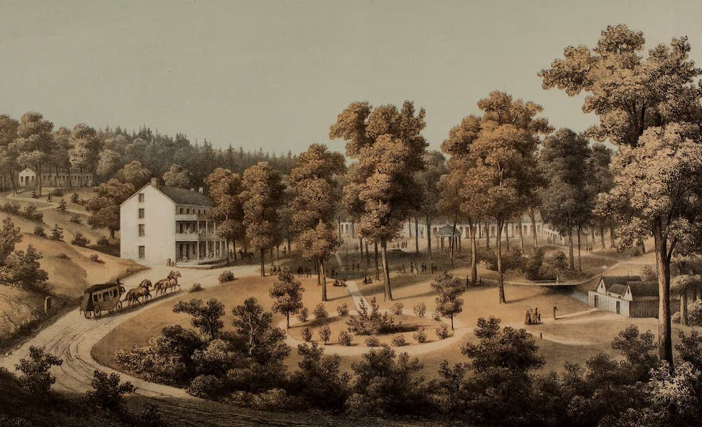 Album of Virginia - Stribling Springs (1858)