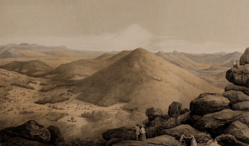 Album of Virginia - View from the Peak of Otter (1858)