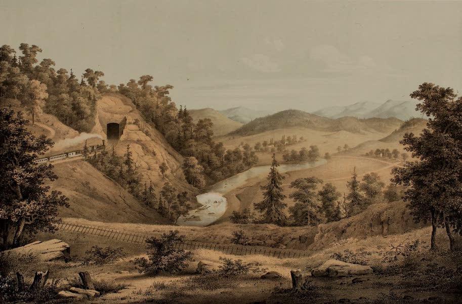 Album of Virginia - The Little Tunnel near Shawsville (1858)