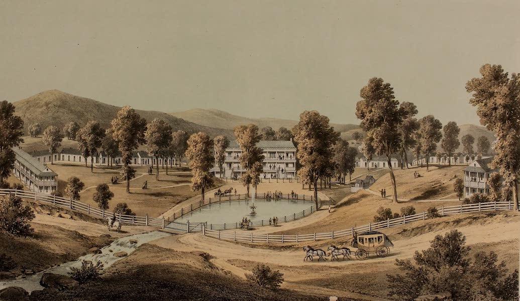 Album of Virginia - Yellow Sulphur Springs (1858)