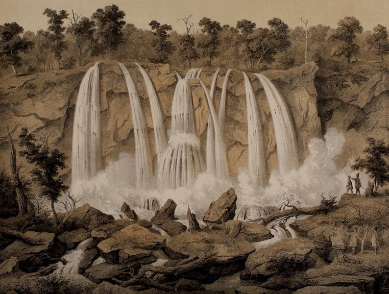 Album of Virginia - Falling Springs (1858)