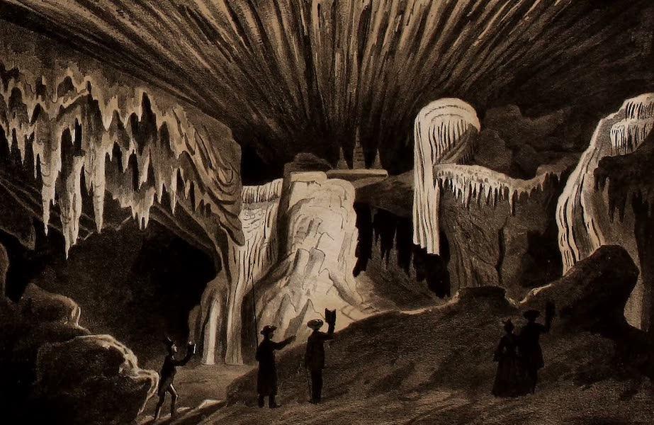 Album of Virginia - View of Weyers Cave (1858)