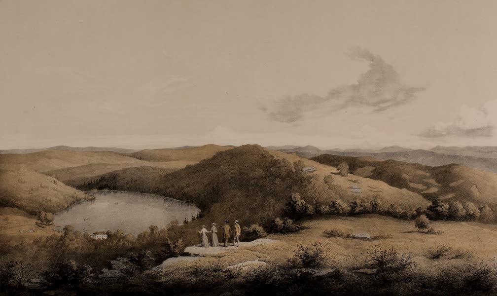Album of Virginia - The Salt Pond from the Salt Pond Knob, Giles County, VA, No. 1 (1858)