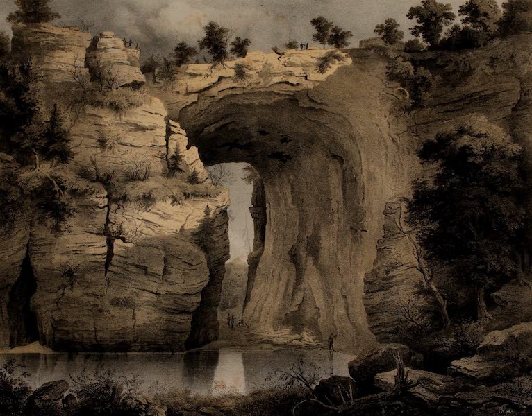 Album of Virginia - Natural Bridge (1858)