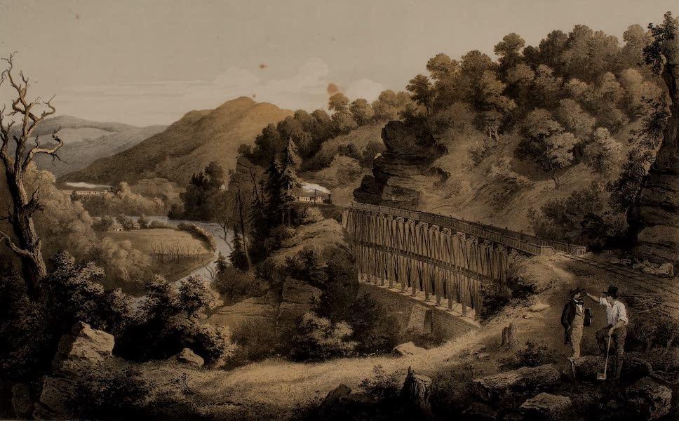 Album of Virginia - Viaduct on Cheat River (1858)