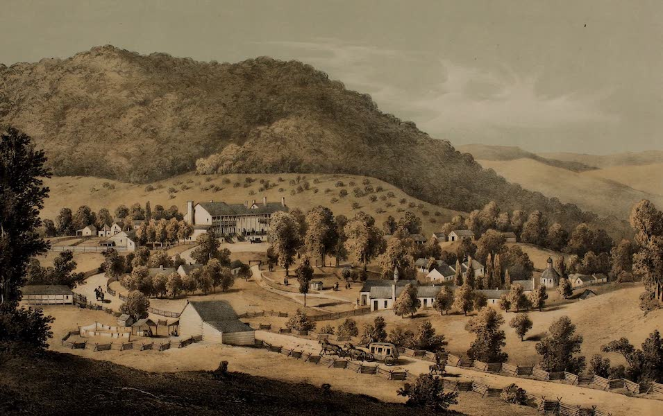 Album of Virginia - Hot Springs (1858)