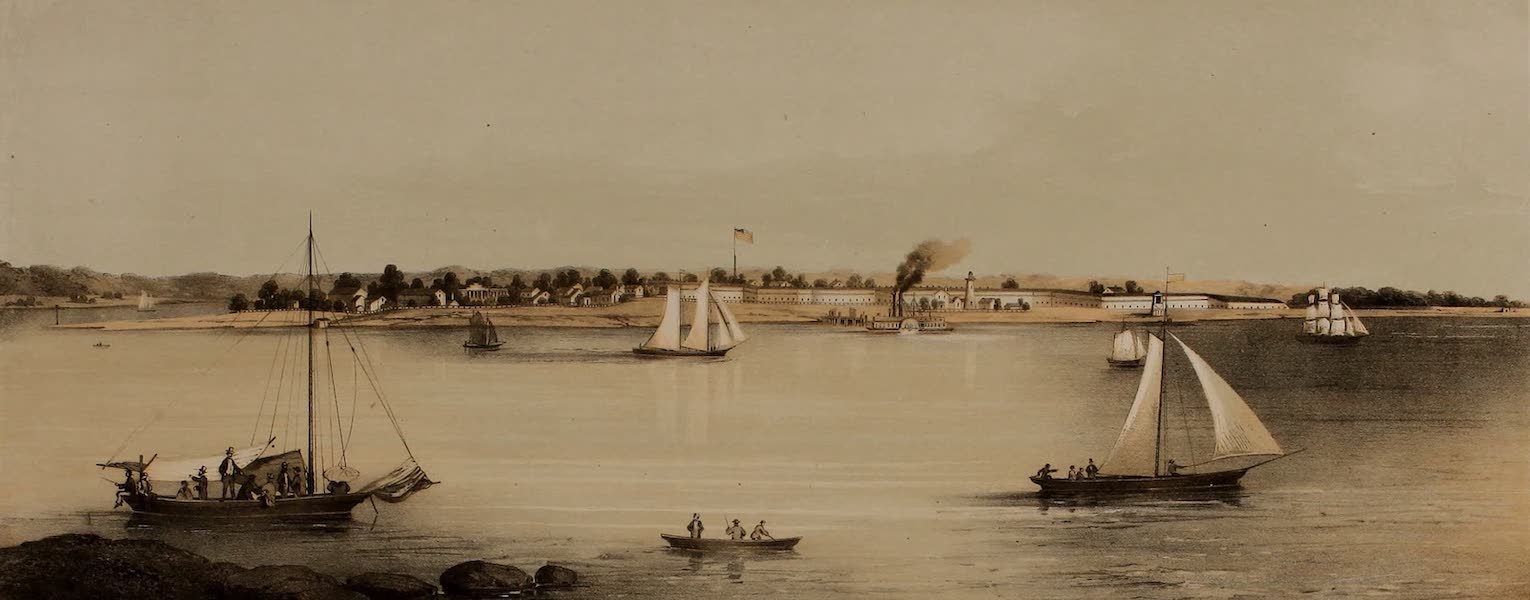 Album of Virginia - Old Point Comfort and Hygeia Hotel (1858)