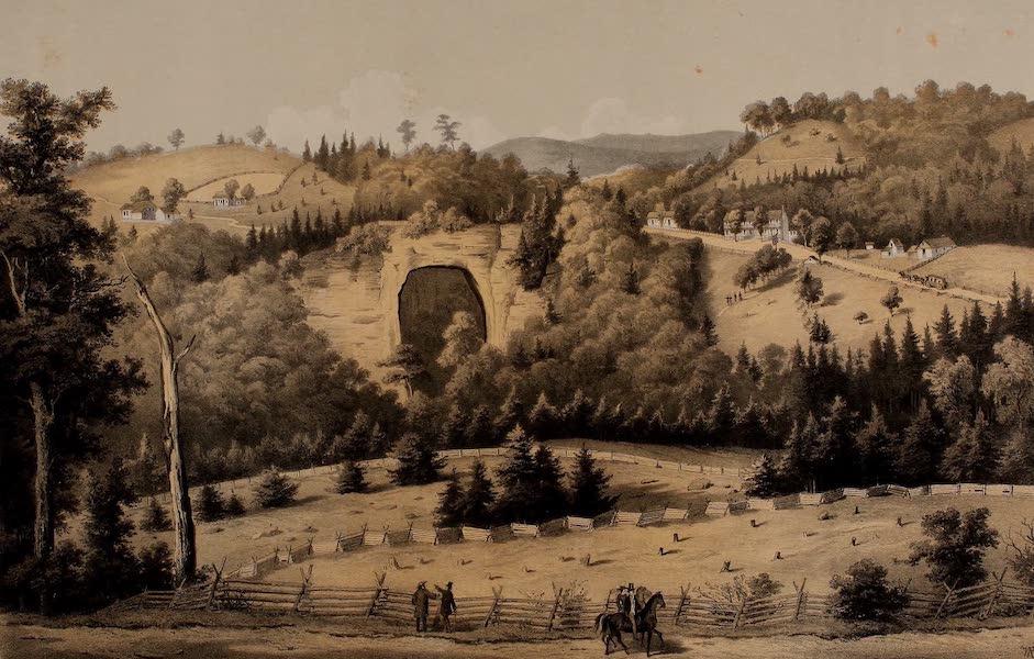 Album of Virginia - Natural Bridge (1858)