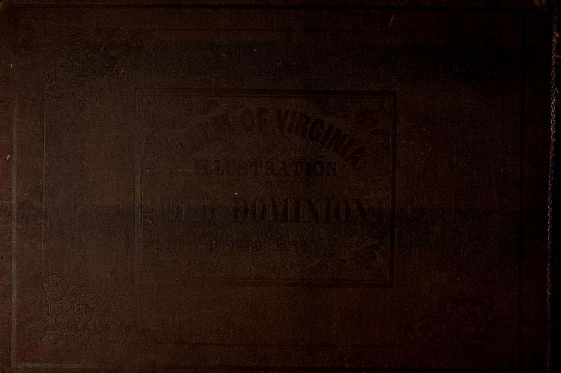 Album of Virginia - Back Cover (1858)