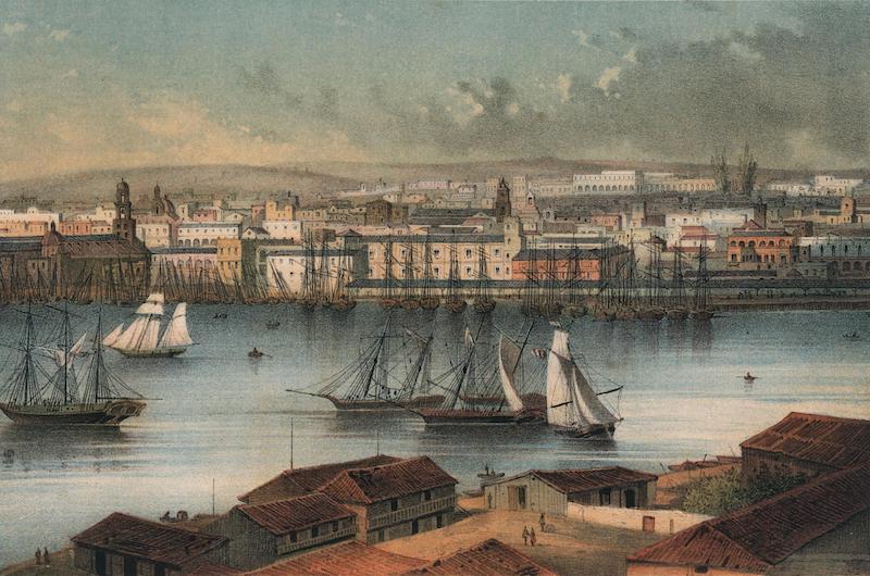 Album Pintoresco de la Isla de Cuba - Habana. Second vista tomada des de Casa-Blanca (1855)