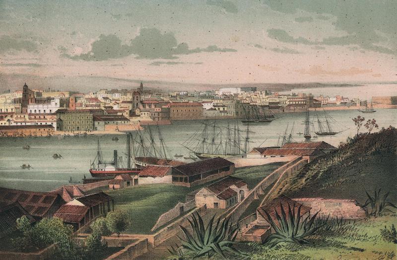 Album Pintoresco de la Isla de Cuba - Habana. Third vista tomada des de Casa-Blanca (1855)
