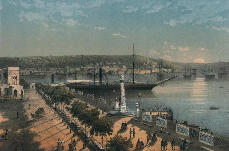 Album Pintoresco de la Isla de Cuba - Alameda de Paula (1855)