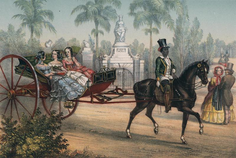 Album Pintoresco de la Isla de Cuba - El Quitrin (1855)