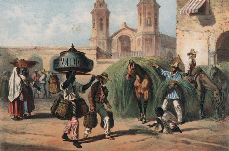 Album Pintoresco de la Isla de Cuba - El Panadero y El Malojero. (1855)