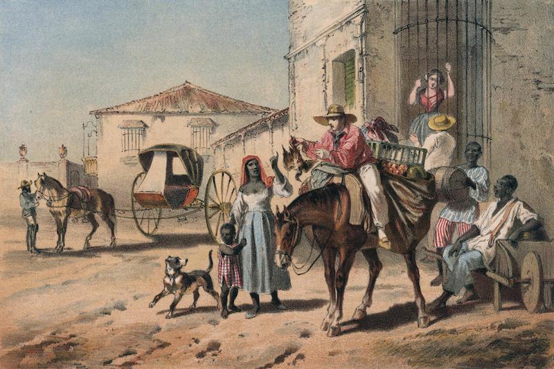 Album Pintoresco de la Isla de Cuba - El Casero (1855)