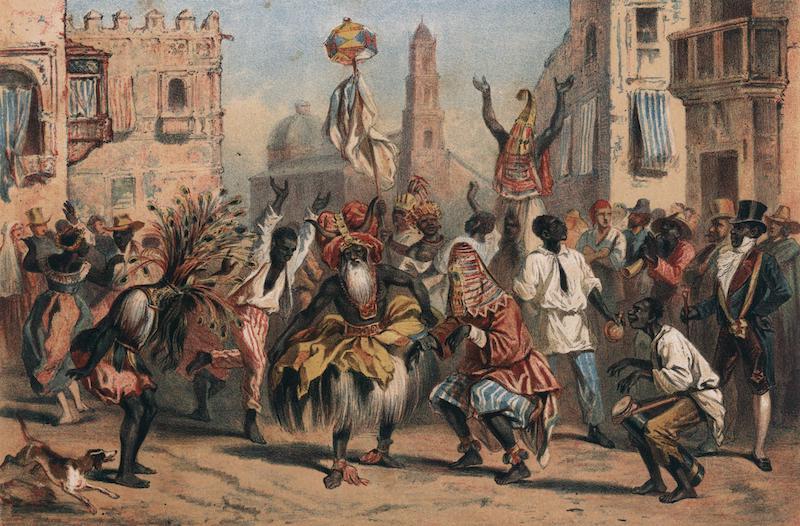Album Pintoresco de la Isla de Cuba - Dia de Reyes. The Holy Kings Day. (1855)