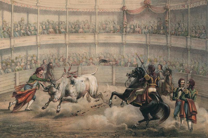 Album Pintoresco de la Isla de Cuba - Corrida de Toros (1855)