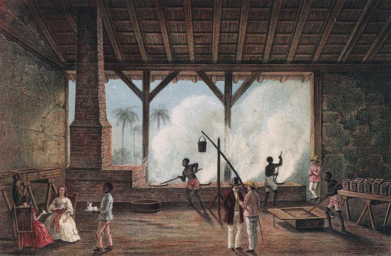 Album Pintoresco de la Isla de Cuba - Vista de una Casa de Calderas (1855)