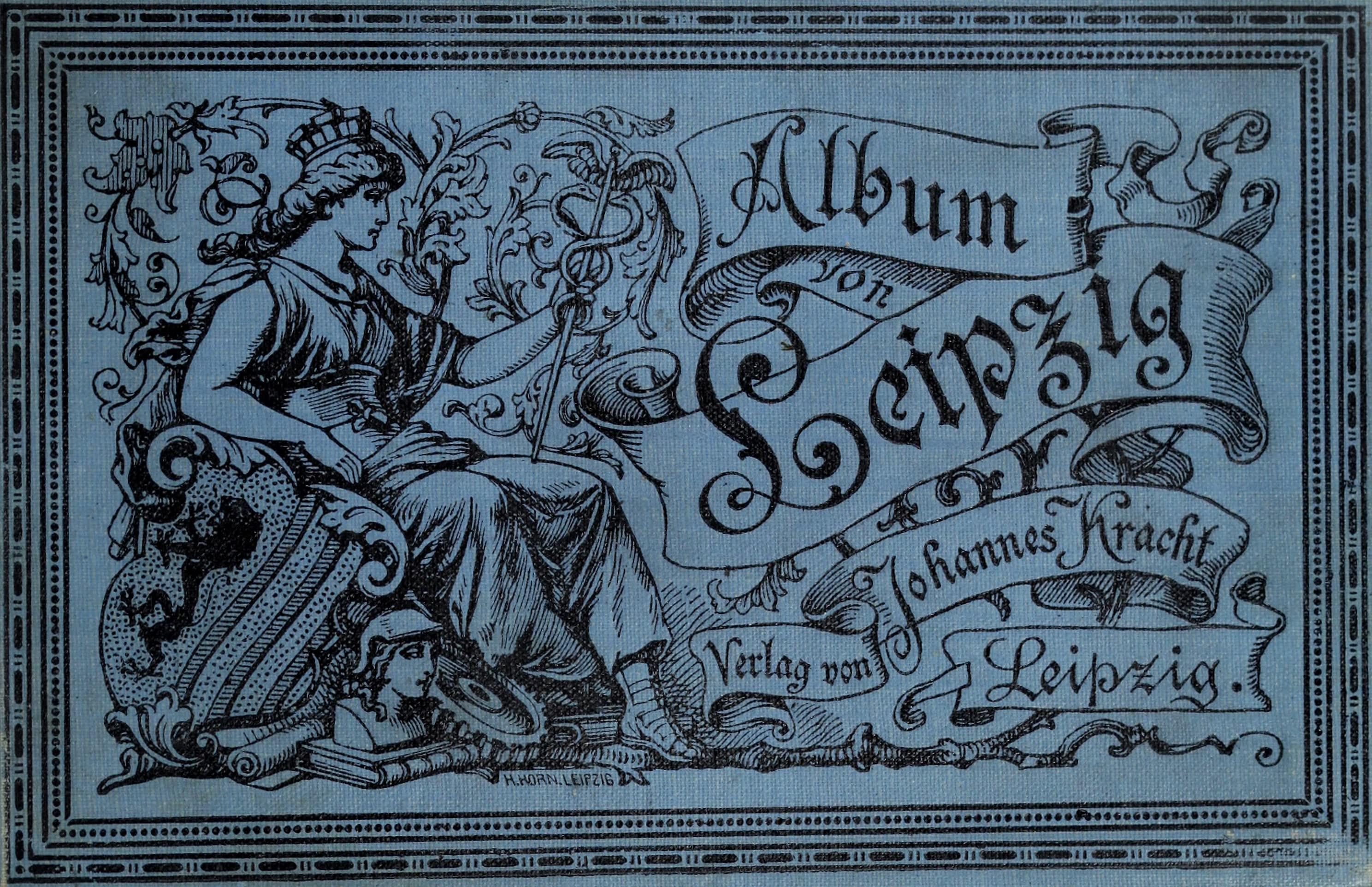 Album von Leipzig - Front Cover (1884)