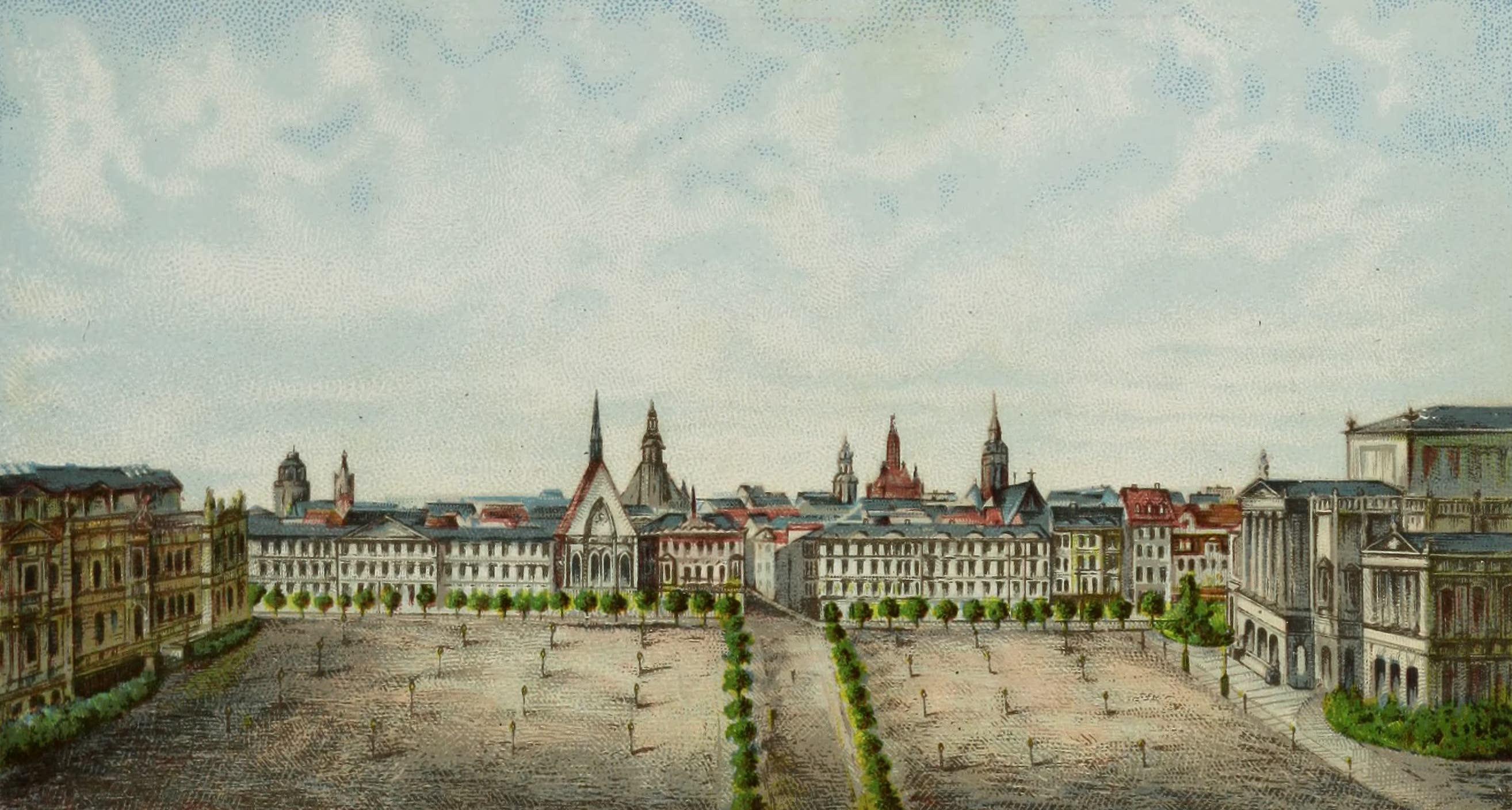 Album von Leipzig - Augustusplatz (1884)