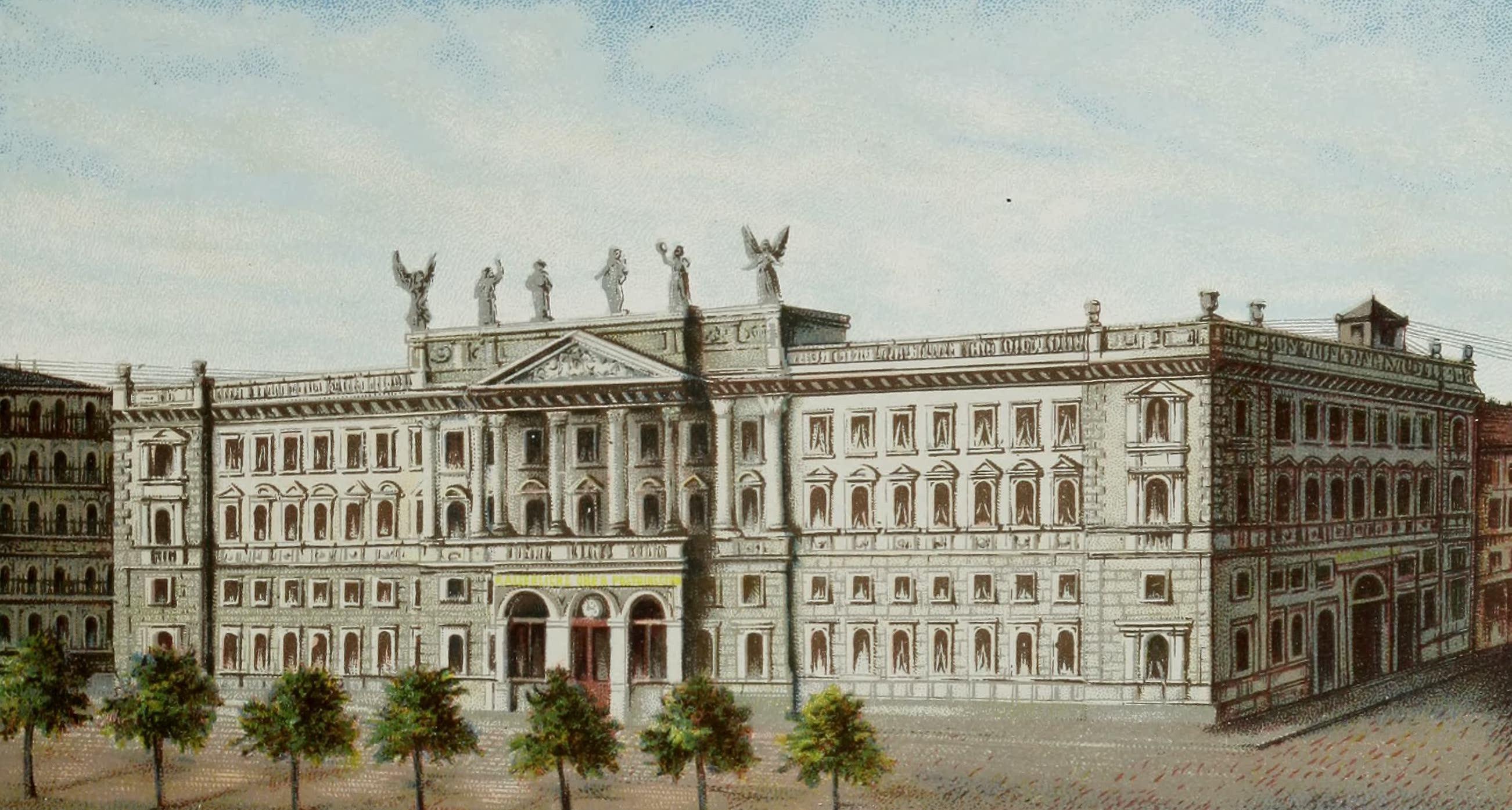 Album von Leipzig - Kaiserl. Haupt-Postamt (1884)