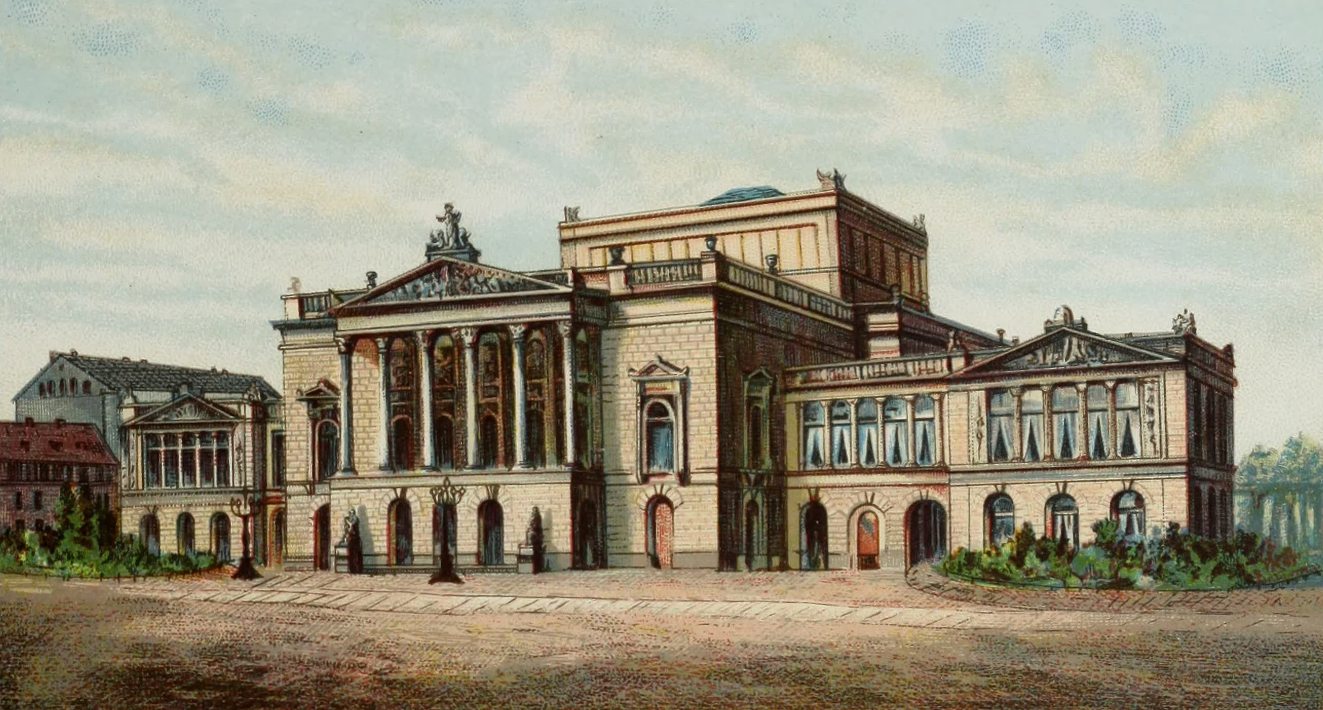 Album von Leipzig - Neues Theater (1884)