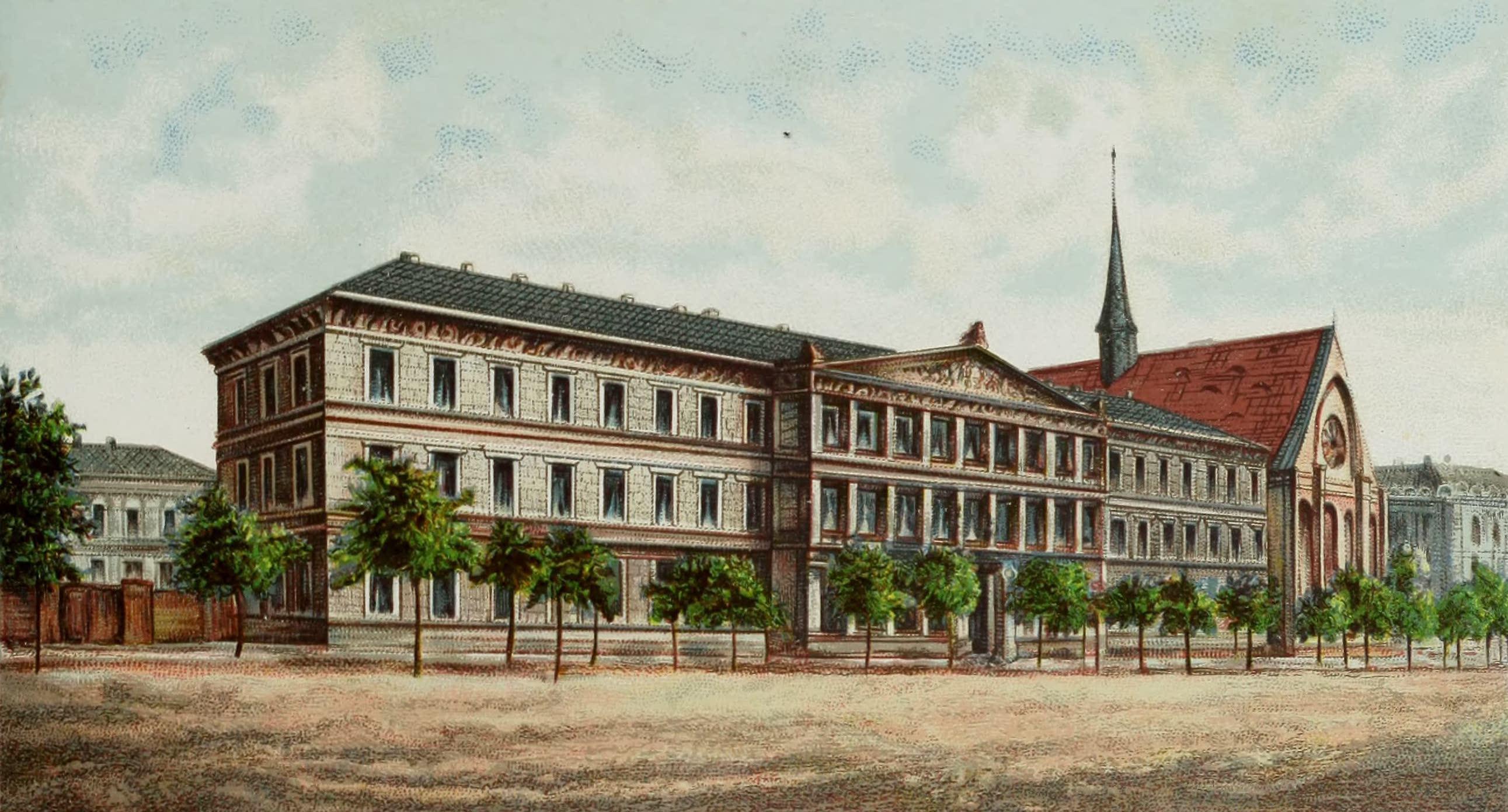Album von Leipzig - Augusteum. (Universitat) (1884)
