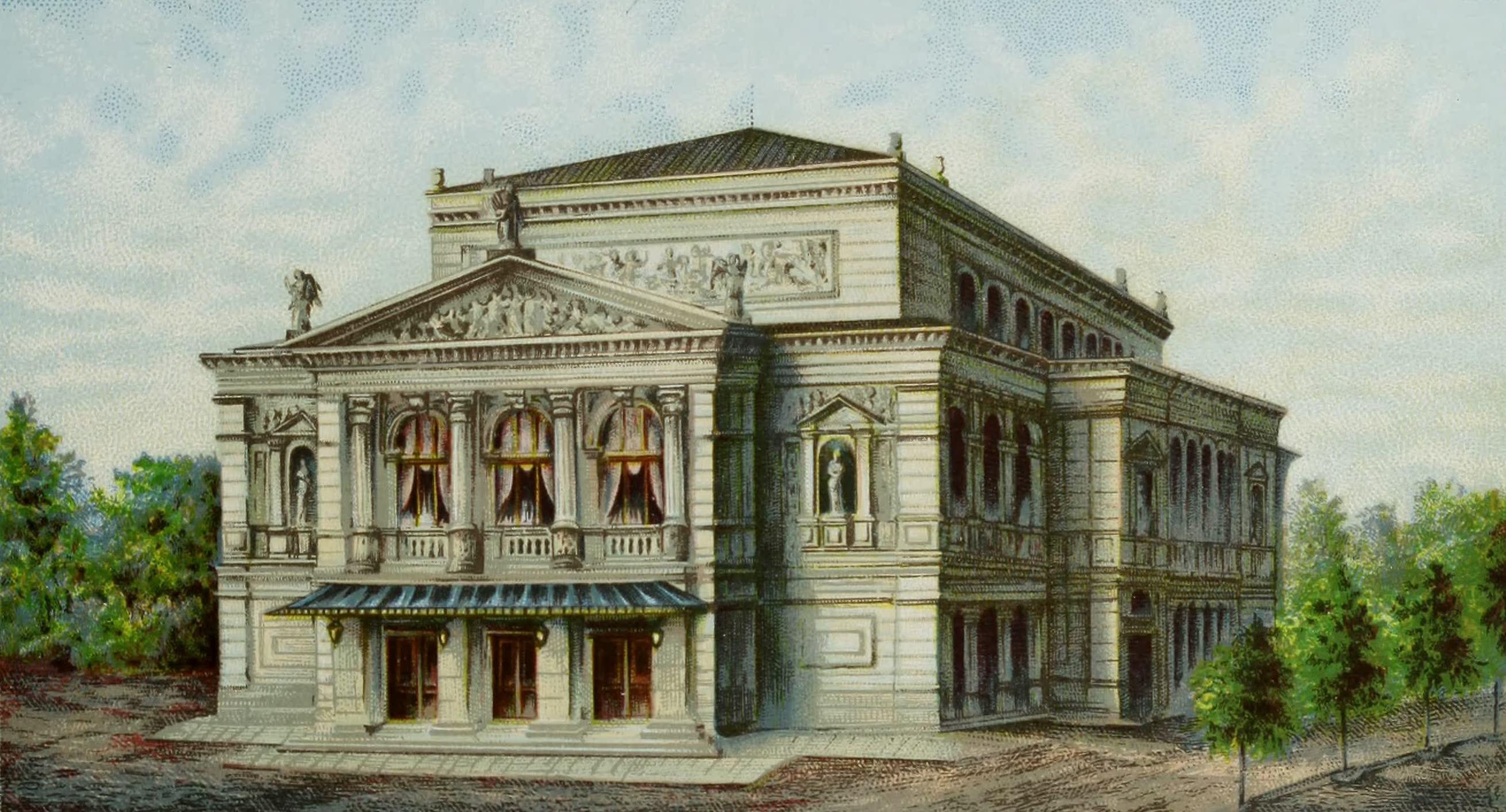 Album von Leipzig - Konzerthaus. (Neues Gewandhaus) (1884)