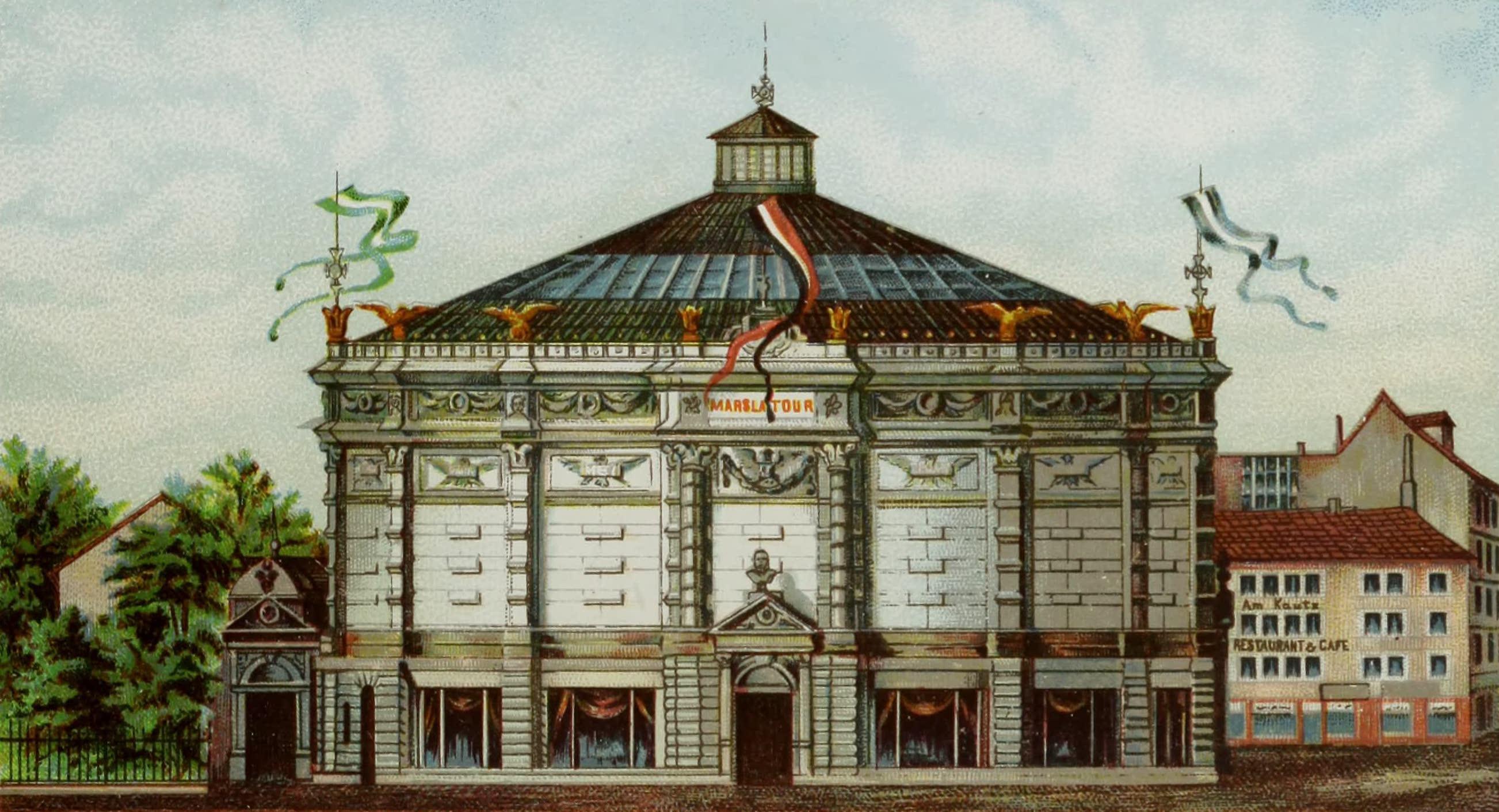 Album von Leipzig - Panorama Mars-la-Tour (1884)