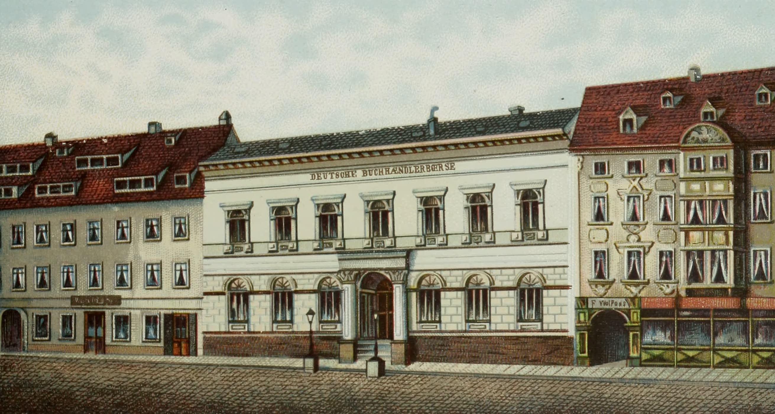 Album von Leipzig - Buchhandler-Borse (1884)