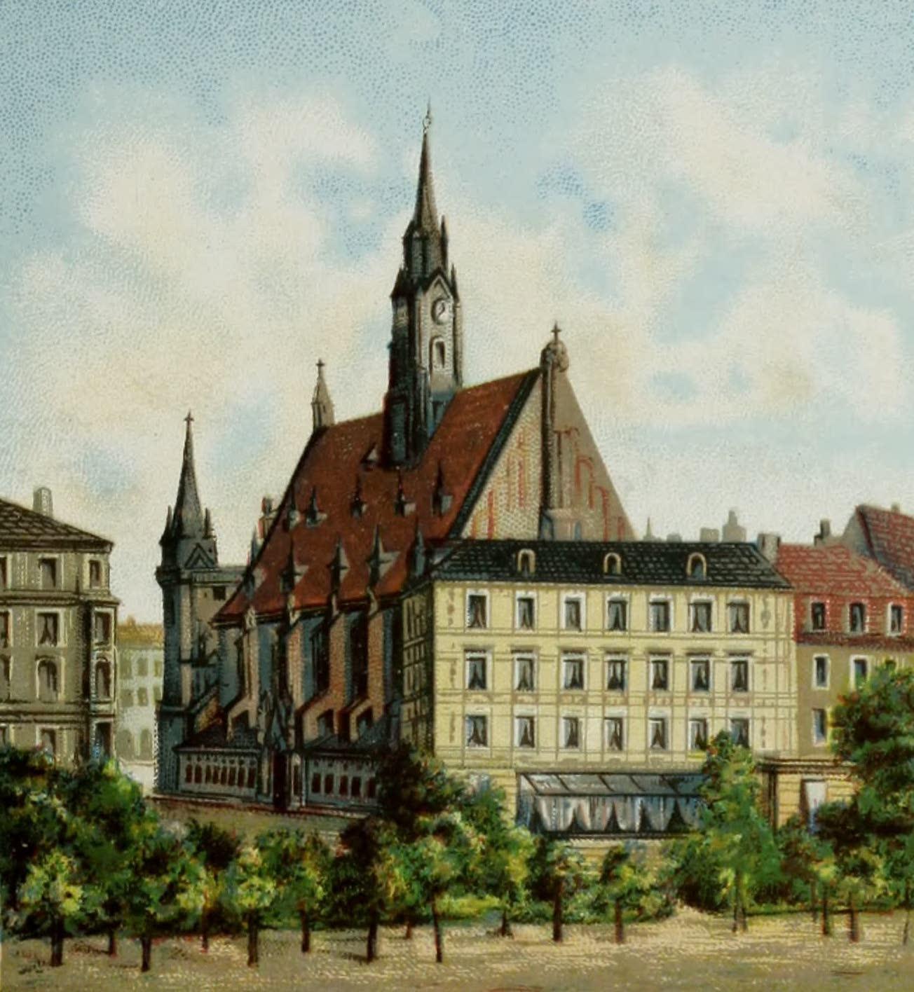 Album von Leipzig - Matthai-Kirche (1884)