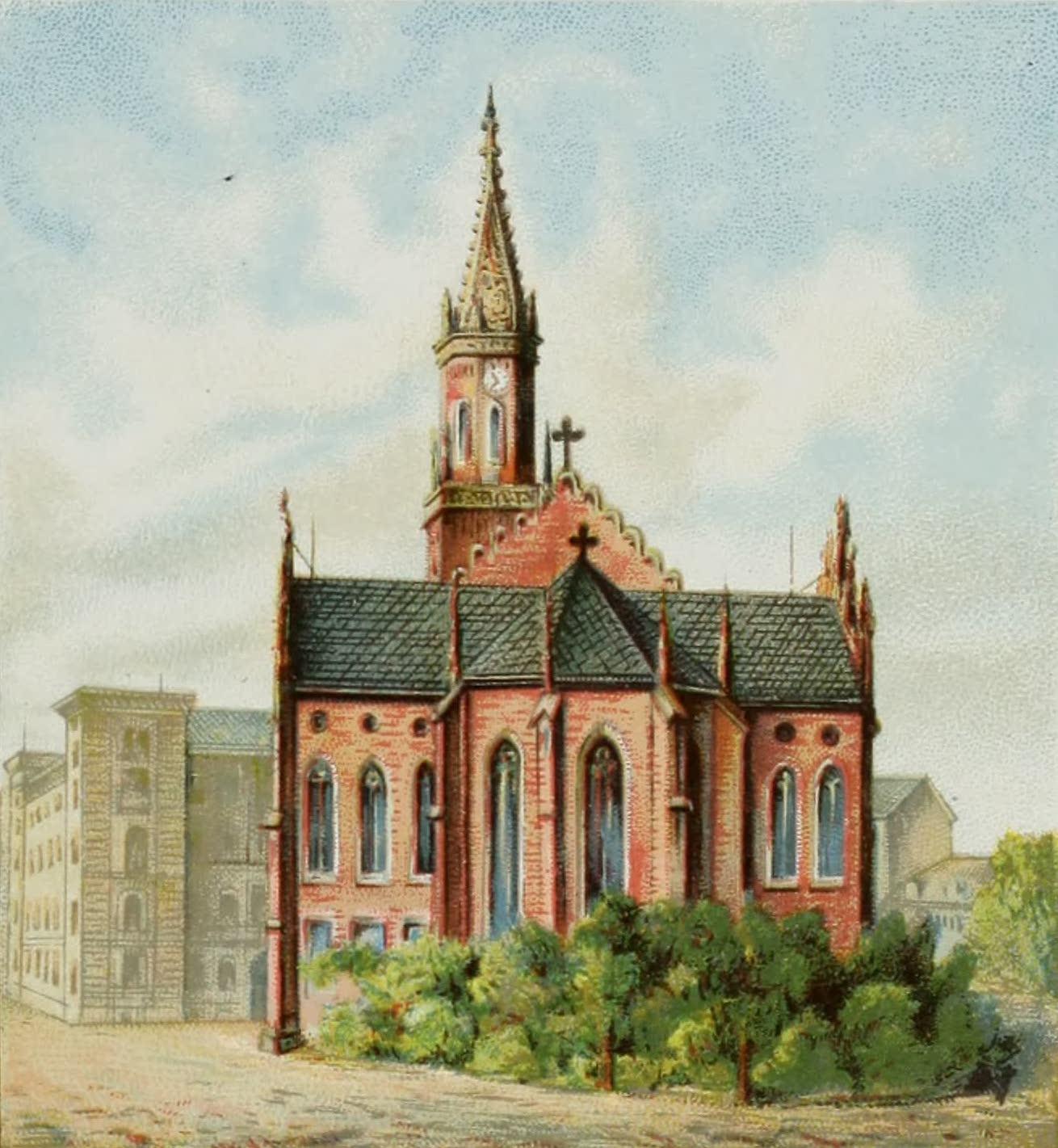 Album von Leipzig - Katholische-Kirche (1884)