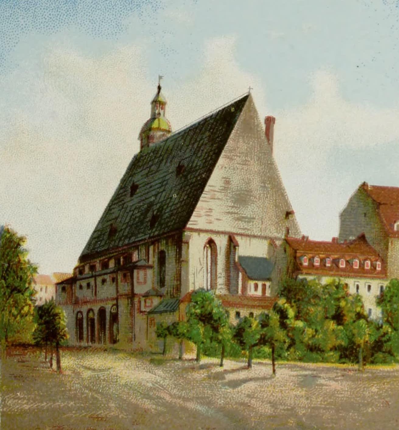 Album von Leipzig - Thomas-Kirche  (1884)