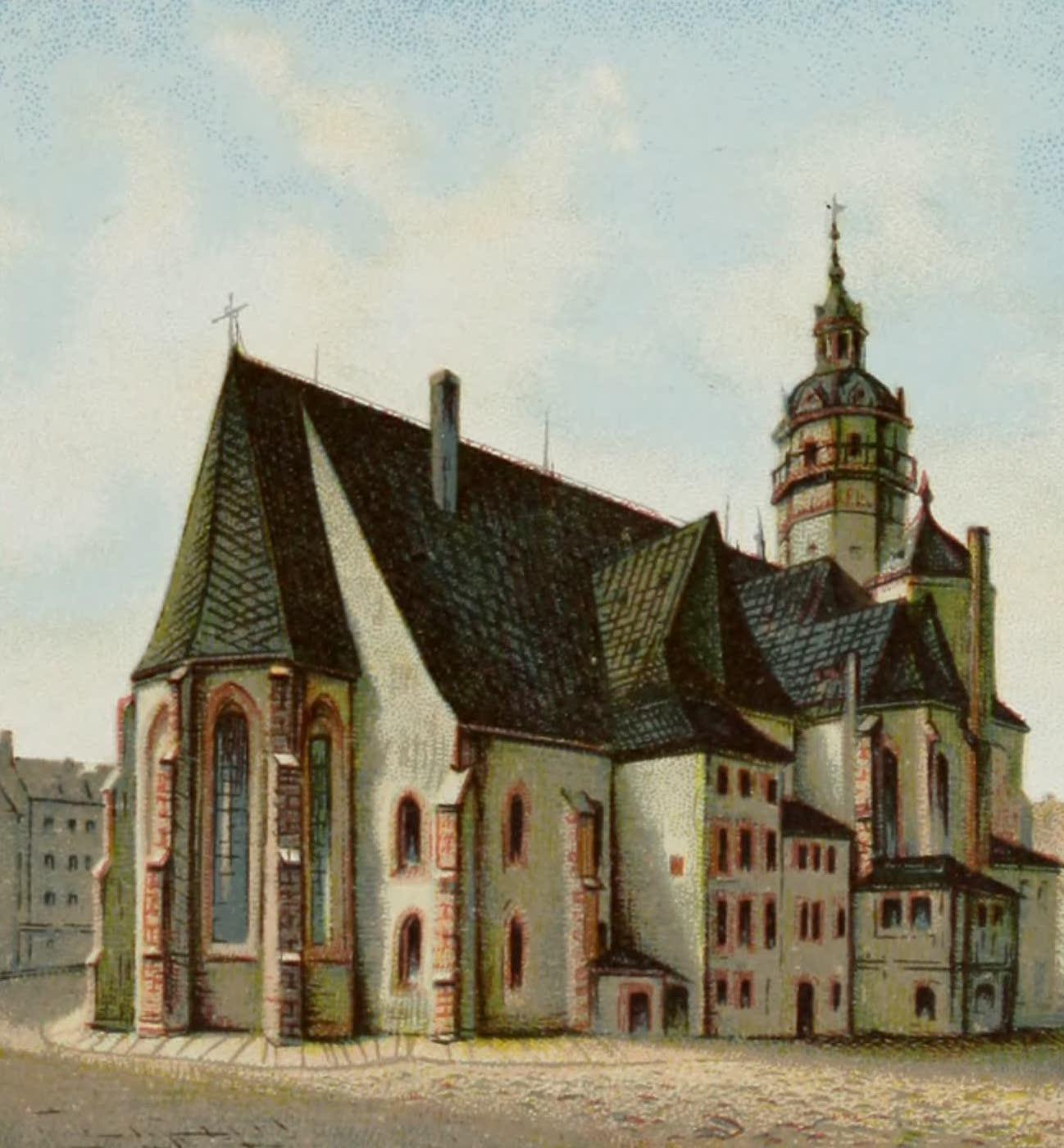 Album von Leipzig - Nicolai-Kirche (1884)