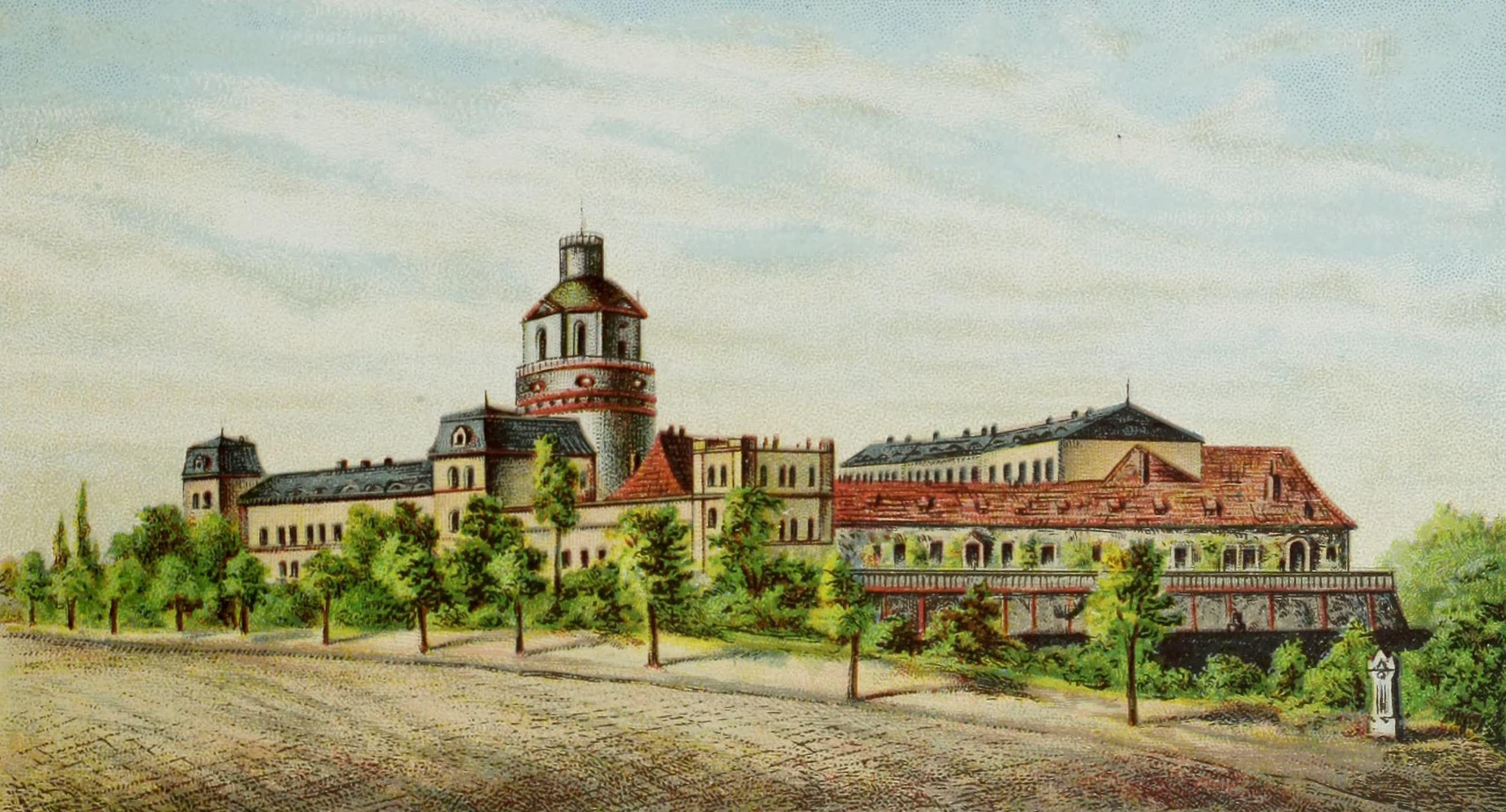 Album von Leipzig - Schloss Pleissenburg (1884)