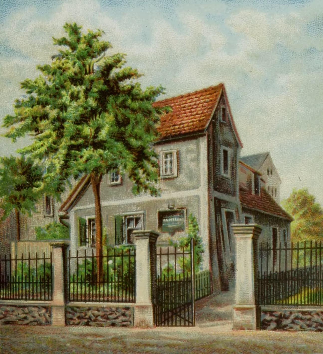 Album von Leipzig - Schiller-Haus (1884)