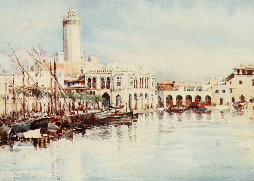 Algeria and Tunis, Painted and Described - The Penon, Algiers (1906)