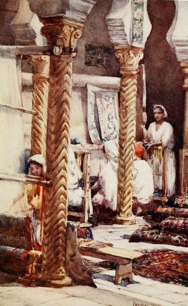 Algeria and Tunis, Painted and Described - The Carpet School, Algiers (1906)