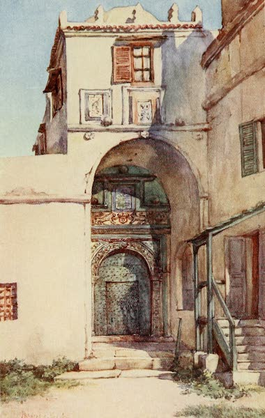 Algeria and Tunis, Painted and Described - The Leopard Door, Algiers (1906)
