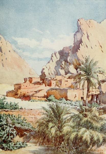 Algeria and Tunis, Painted and Described - The Red Village, El Kantara (1906)