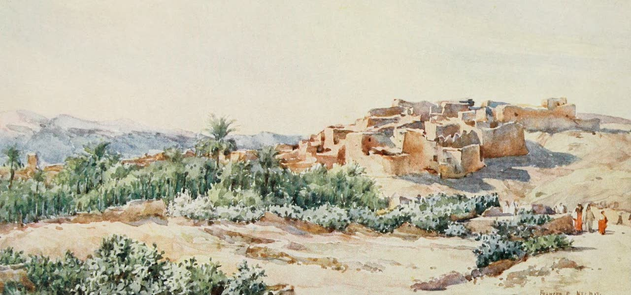 Algeria and Tunis, Painted and Described - On the Edge of the Desert (1906)