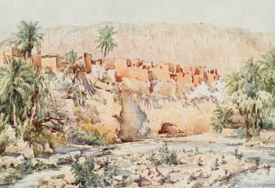 Algeria and Tunis, Painted and Described - In the heart of an Oasis (1906)