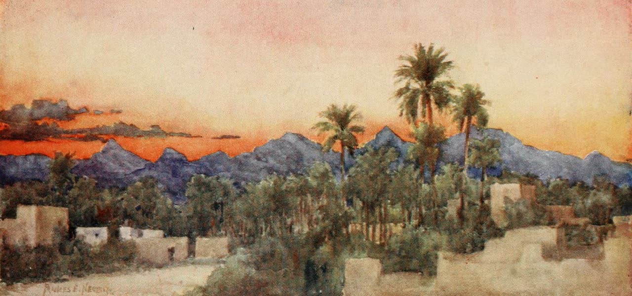 Algeria and Tunis, Painted and Described - Sunset (1906)