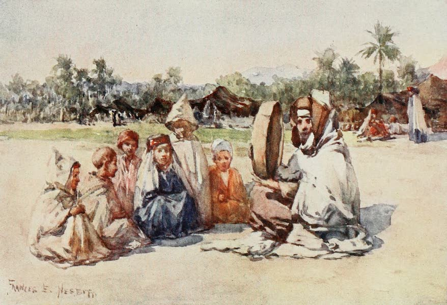 Algeria and Tunis, Painted and Described - The Story-Teller (1906)