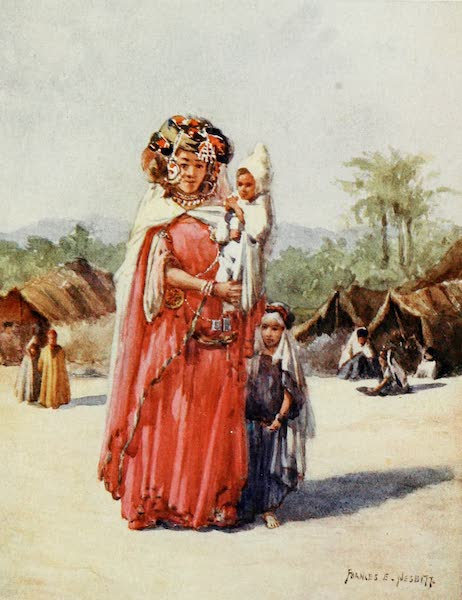 Algeria and Tunis, Painted and Described - A Biskra Woman (1906)