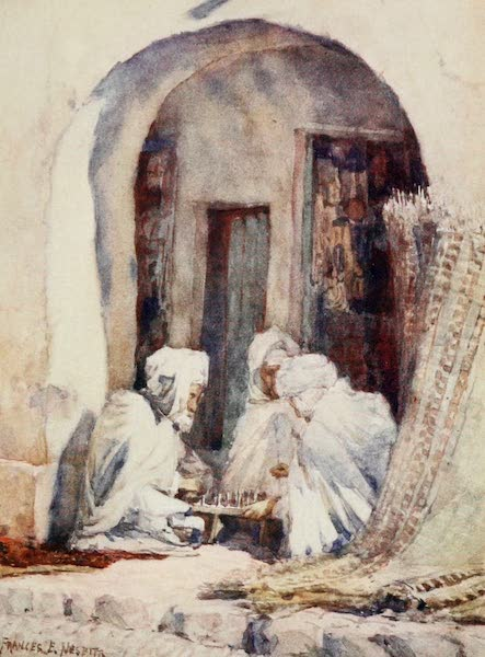 Algeria and Tunis, Painted and Described - A Game of Draughts (1906)