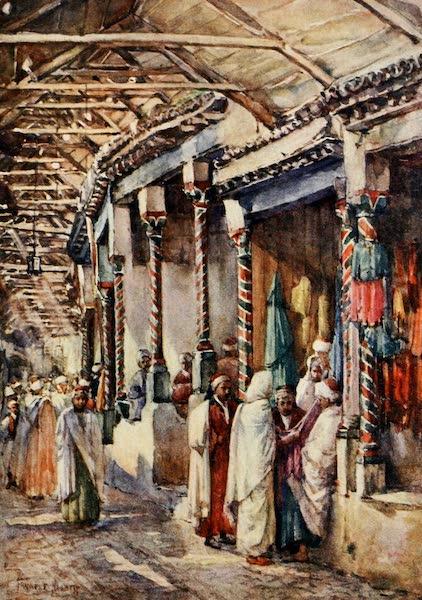 Algeria and Tunis, Painted and Described - Souk el Trouk, Tunis (1906)