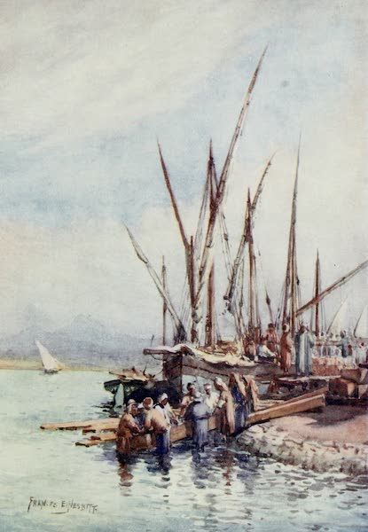 Algeria and Tunis, Painted and Described - Unlading Wood (1906)